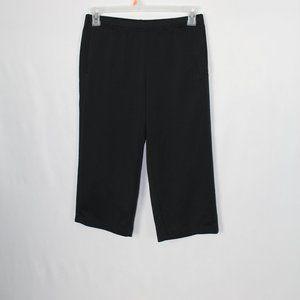 # 0198       Heart Soul  Brown Capris Pants